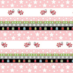 Holiday Star Gifts-pink template