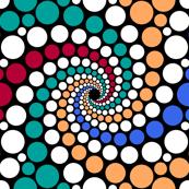dot spiral 5