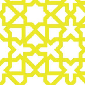 Marrakesch xxl white-mustard