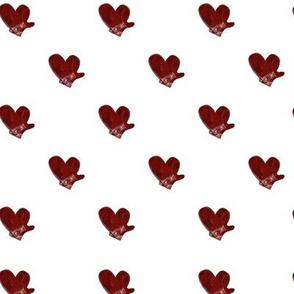Heart Mitten Hearts