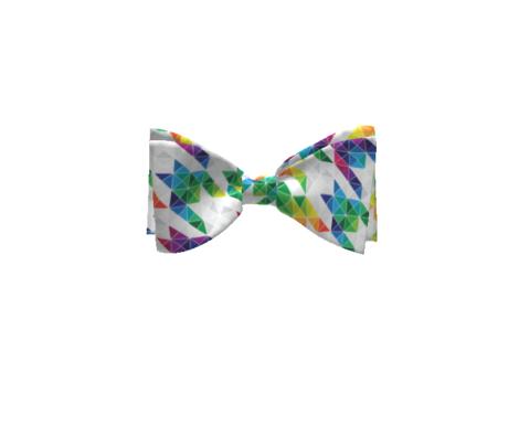 Rainbow Houndstoothe Triangles