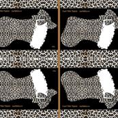 Snow Leopard Christmas bow stocking! BTFQ parisbebe