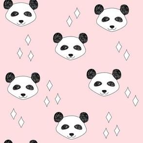 Panda White Pink