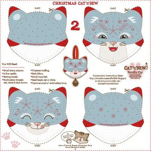Nordic Cat Decorations 02