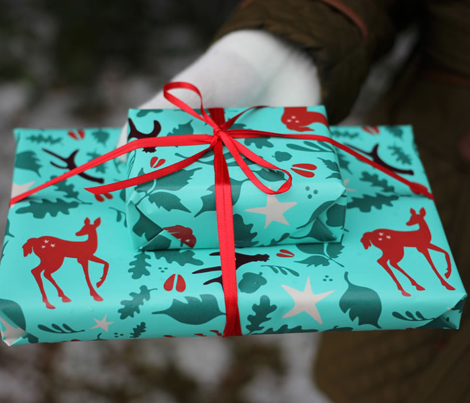 Deerly Beloved Gift Wrap
