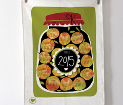 tea towels calendar