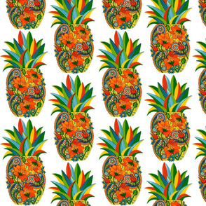 Pineapple_Flower_Paisley