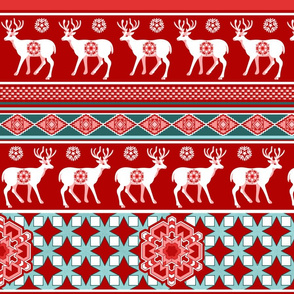 Best wishes from the reindeers!red