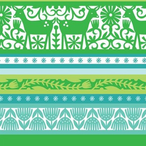 Nordic Stripe - Lime