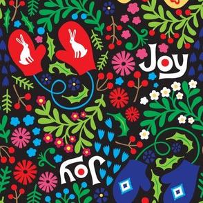 Winter Joy - Black