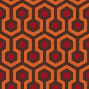 The Shining Hallway Carpet