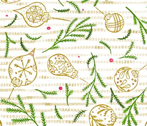 Ornaments & Evergreen Gold - © Lucinda Wei