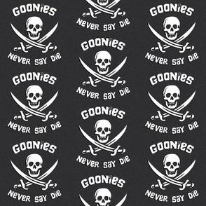 Goonies Never Say Die - Grey: Medium