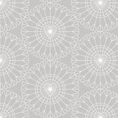 Open Your Heart* (Silkscreen) || hearts Ferris wheel valentine valentines day love geometric mandala wire