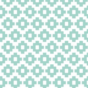 aztec in blue