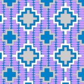 custom kilim lavender