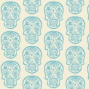 Sugar Skulls - Cotton Candy Blue