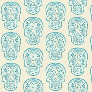 Sugar Skulls - Cotton Candy Blue