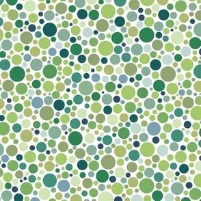 ishihara coordinate - solid greens