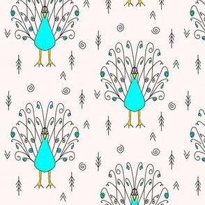 peacock powder