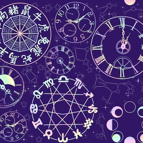 Celestial Cycles (purple)