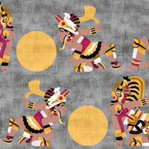 Mayan Ball Players