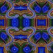 snake_skin - Blue