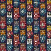 mistletoe kitten mittens