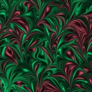 HolidayRedGreen-Swirl