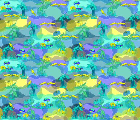 Dinosaur World - Aqua.