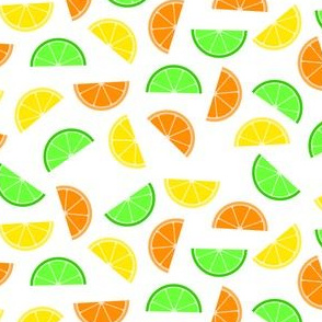 Citrus Fruits - Lemon, Orange and Lime