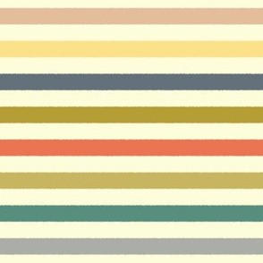 baby ikat stripe cream