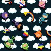 Rainbow pals