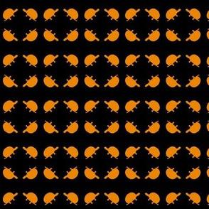 Turtle Quads Gold Black