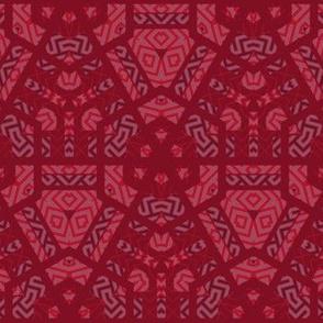 Red Geometric