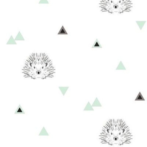 hedgehog mint triangles