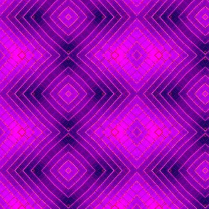 Geometric purple small
