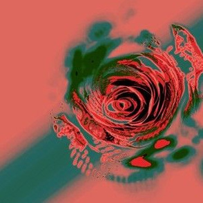 Red Green Rose