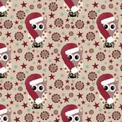 Christmas owl 01