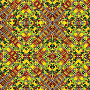 African Mud Cloth Inspired
