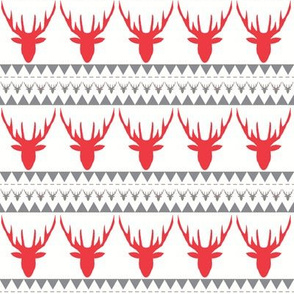deers red grey