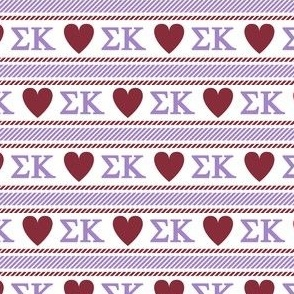Sigma Kappa ticking