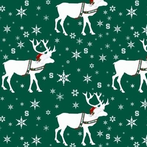 Michigan State Spartan Reindeer