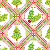 Christmas Polka Dot Lattice large