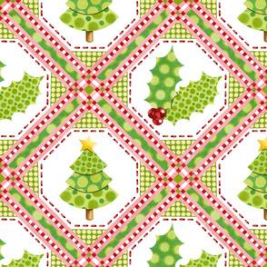 Christmas Polka Dot Tree