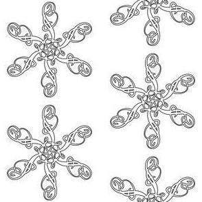 Flourished Snowflake