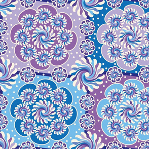 Mandalas Purple