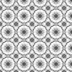 baroque flower kaleidoscope