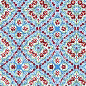 Folk Art Blocks from Tapestry Trim