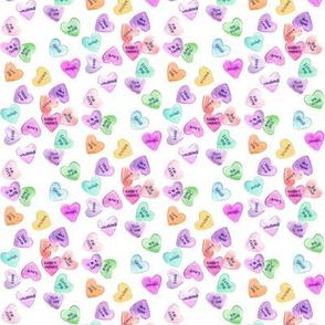 candy hearts mini